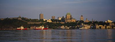Buildings on the Waterfront, Quebec City, Quebec, Canada