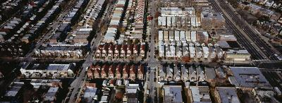 Aerial View of a City, Queens, New York City, New York State, USA