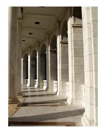 Tomb of Unknown Solider Amphitheater Columns