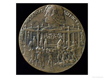 Medal with the Head of Giuliano De'Medici Commemorating the Pazzi Conspiracy of 1478, Verso