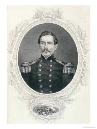 """General Pierre Gustave Toutant Beauregard from """"The History of the United States"""""""
