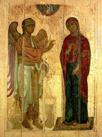 The Ustiug Annunciation, circa 1130-40