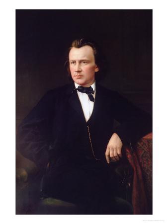 J. Brahms, circa 1860