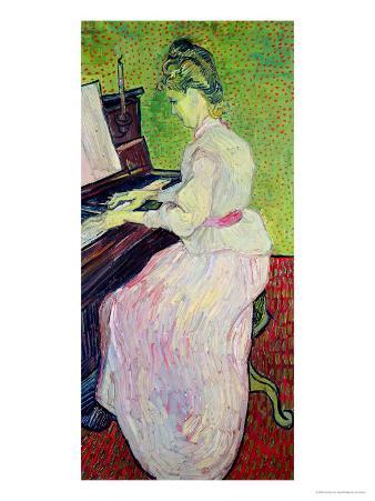 Marguerite Gachet at the Piano, c.1890