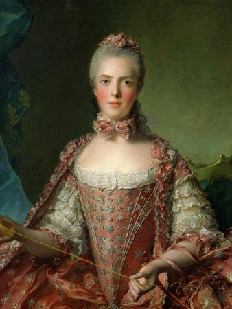 Portrait of Marie Adelaide 1756