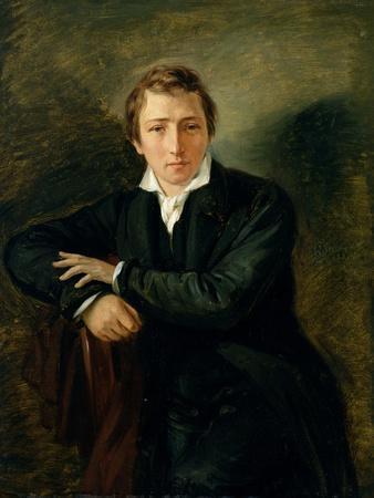 Portrait of Heinrich Heine 1831