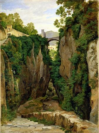 Rocky Ravine at Sorrento, 1823