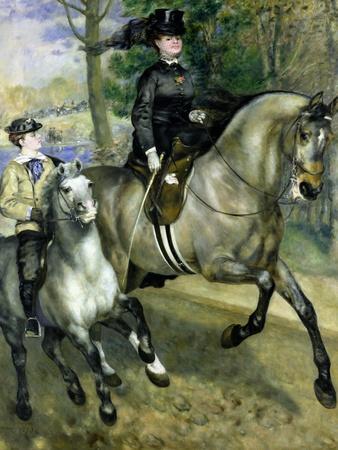 Horsewoman in the Bois de Boulogne, 1873