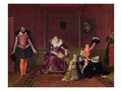 Henri IV King of France and Navarre Playing with His Children and the Ambassador of Spain, 1817
