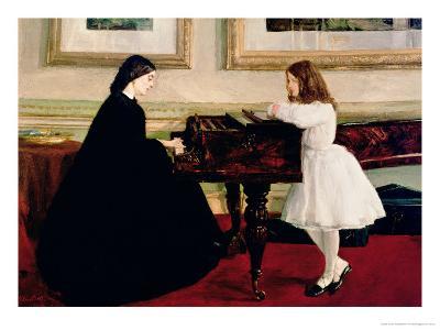 At the Piano, 1858-59