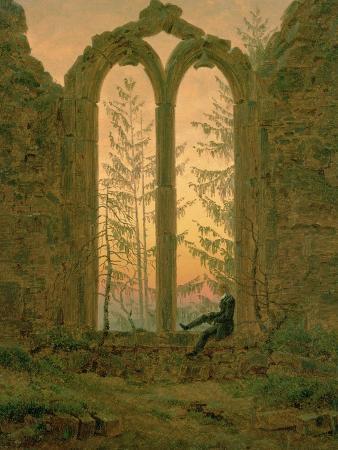 Ruins of the Oybin Monastery 1835-40