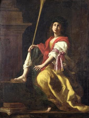 Clio, Muse of History, 1624