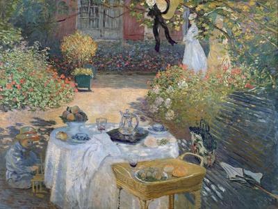 The Luncheon: Monet's Garden at Argenteuil, circa 1873