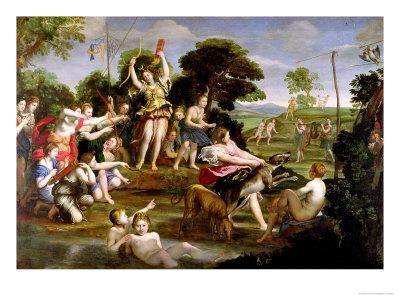 The Hunt of Diana, 1616-17
