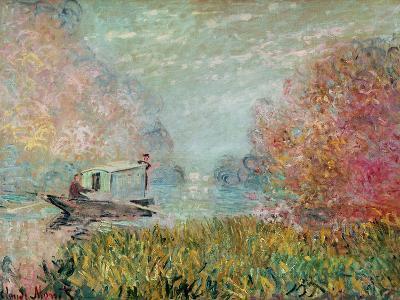 The Boat Studio on the Seine, 1875