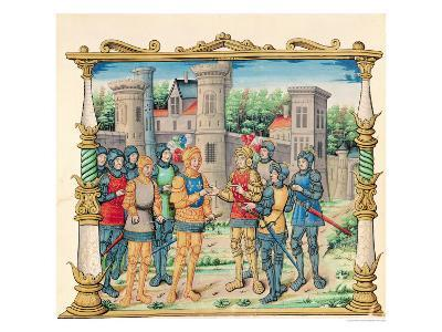 The Treaty of Conflans Between Louis XI and Charles the Bold Duke of Burgundy, October 1465