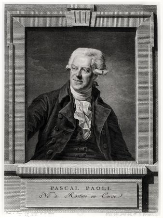 Portrait of Pascal Paoli