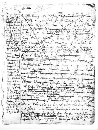 """Last Page of """"A La Recherche Du Temps Perdu"""""""