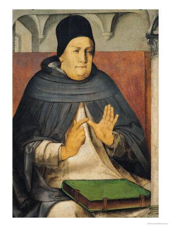 Portrait of St. Thomas Aquinas circa 1475