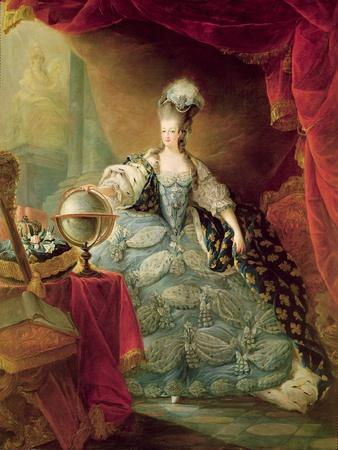 Portrait of Marie Antoinette Queen of France