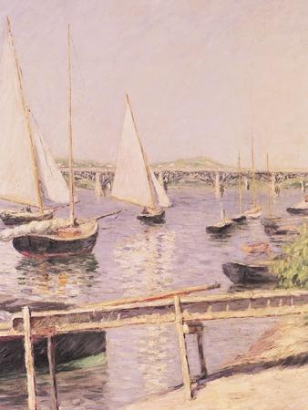 Sailing Boats at Argenteuil, circa 1888
