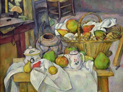 Still Life with Basket, 1888-90