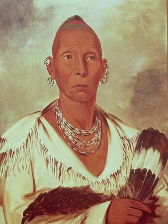 Portrait of Black Hawk, Indian Chief