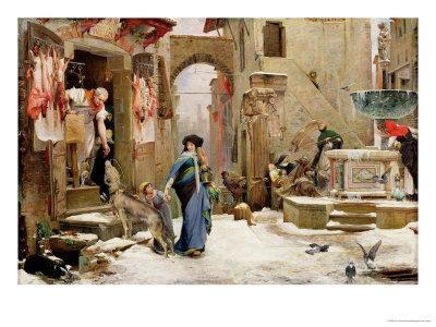 The Wolf of Gubbio, 1877