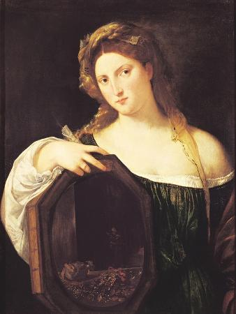 Allegory of Vanity, or Young Woman with a Mirror, circa 1515