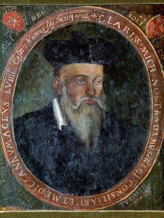 Portrait of Michel de Nostradame