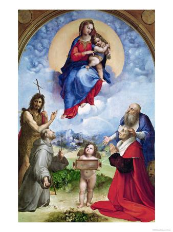The Foligno Madonna, circa 1511-12