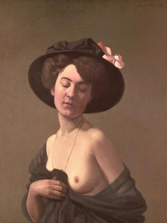 Lady in a Hat, 1908