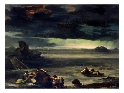 Scene of the Deluge, 1818-20