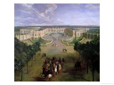 View of the Grand Trianon, 1722
