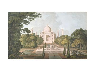 The Taj Mahal, Agra, from the Garden, Published 1801