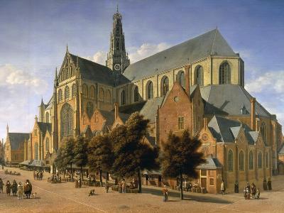 Church of St. Bavo in Haarlem, 1666