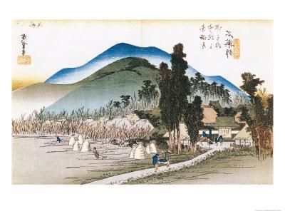 "Ishiyakushi, from the Series ""53 Stations of the Tokaido"", 1833-34"