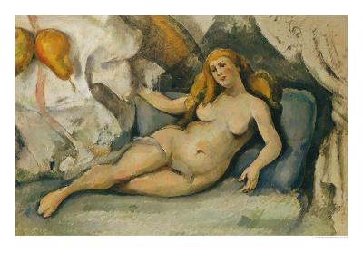 Female Nude on a Sofa