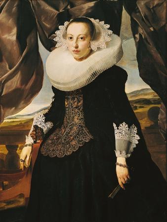 Portrait of a Young Dutch Woman