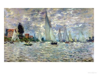 The Boats, or Regatta at Argenteuil, circa 1874