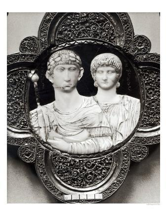 Cameo Depicting Emperor Honorius and His Wife, Maria