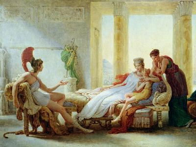 Aeneas Telling Dido of the Disaster at Troy, 1815