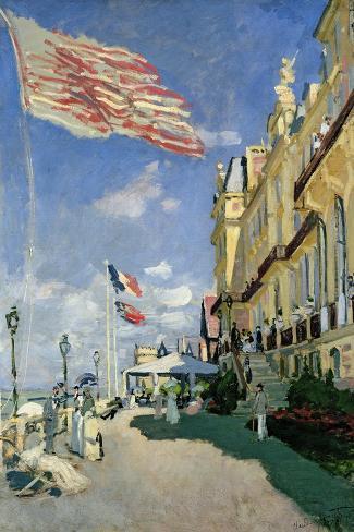 The Hotel des Roches Noires at Trouville, 1870