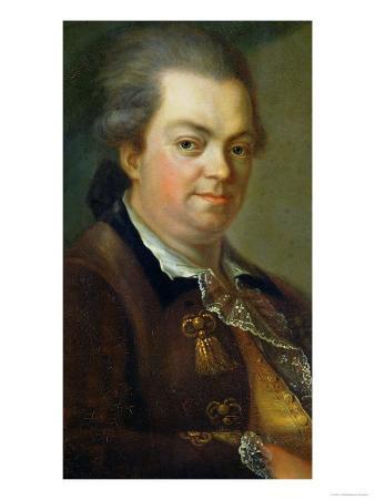 Portrait Presumed to be Count Alessandro Di Cagliostro 1778