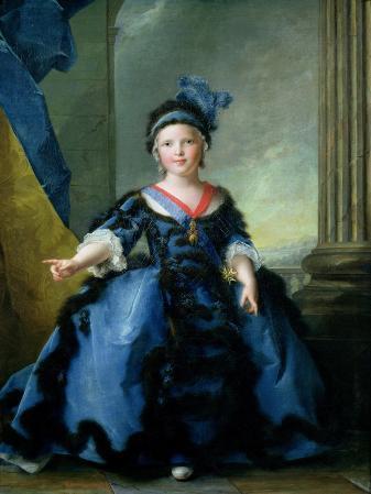 Louis-Joseph-Xavier de France Duke of Burgundy, 1754