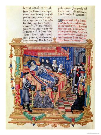 The Death of Louis XI