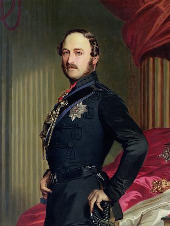 Portrait of Prince Albert 1859