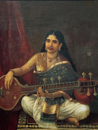 Young Woman with a Veena