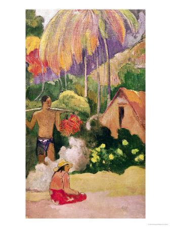 Landscape in Tahiti 1892