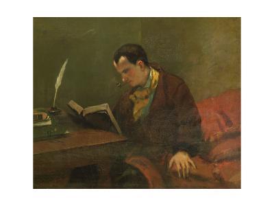 Portrait of Charles Baudelaire 1847